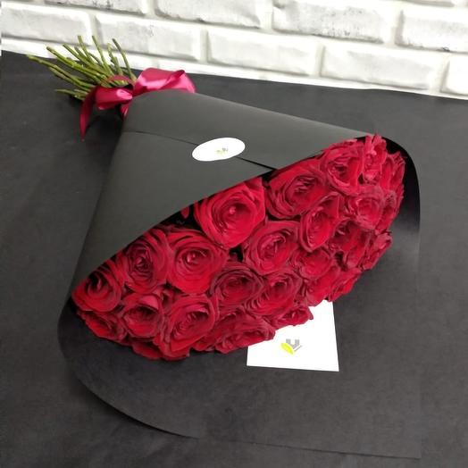 """""""Red Naomi"""": букеты цветов на заказ Flowwow"""