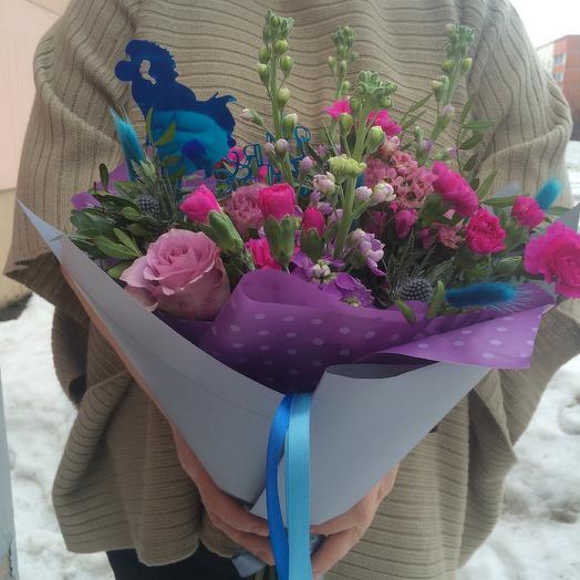 Люблю тебя: букеты цветов на заказ Flowwow