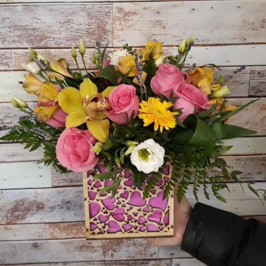 """""""Для Тебя"""": букеты цветов на заказ Flowwow"""