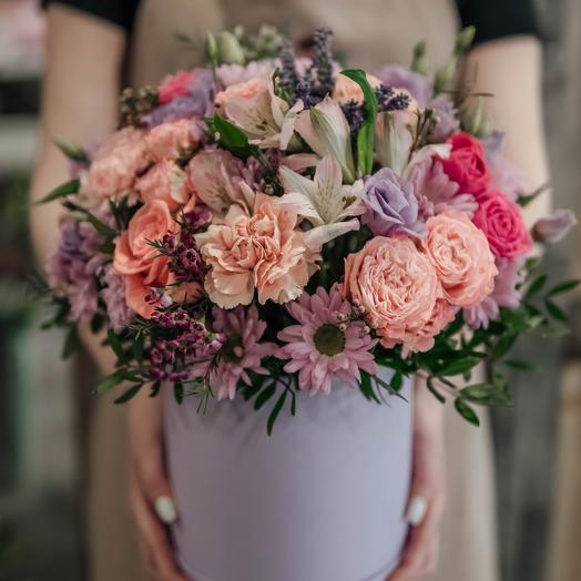 Box for her: flowers to order Flowwow