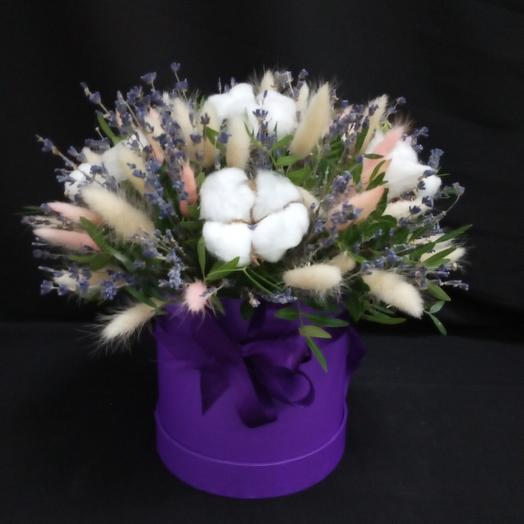 """В Лавандовой тиши пушистых облаков..."""": букеты цветов на заказ Flowwow"""