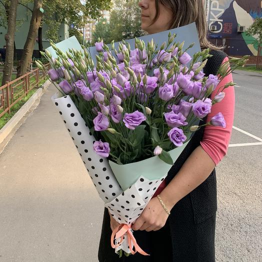 Фиолетовая мечта: букеты цветов на заказ Flowwow