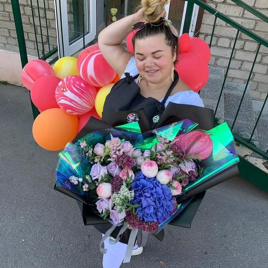 Букет Чилийская страсть: букеты цветов на заказ Flowwow