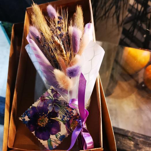 Лагурус пшено ванда: букеты цветов на заказ Flowwow