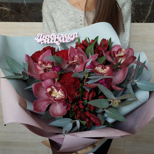 Для любимой мамульки: букеты цветов на заказ Flowwow