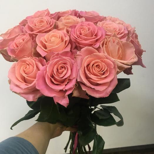 Роза Эквадор 19 шт: букеты цветов на заказ Flowwow