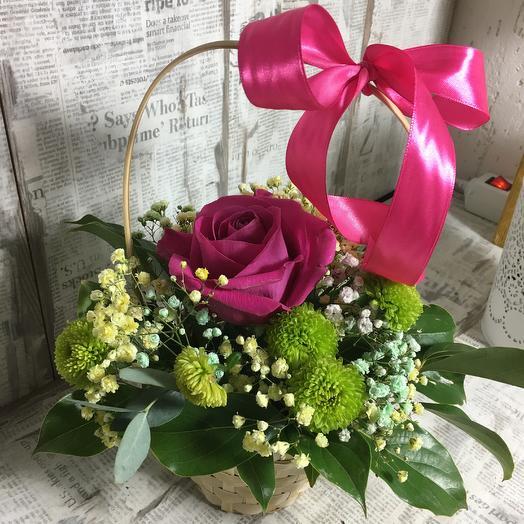 Композиция «Летняя»: букеты цветов на заказ Flowwow