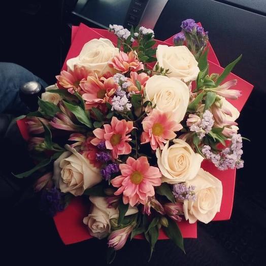 Букет Счастливый день: букеты цветов на заказ Flowwow