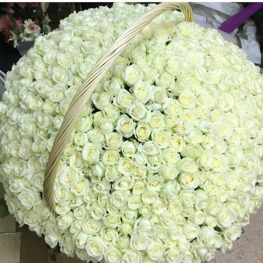 Белое море: букеты цветов на заказ Flowwow
