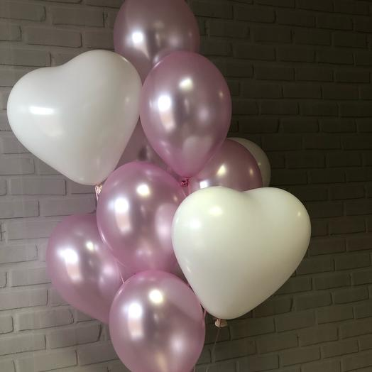 Сет из воздушных шариков «Зефирка»: букеты цветов на заказ Flowwow