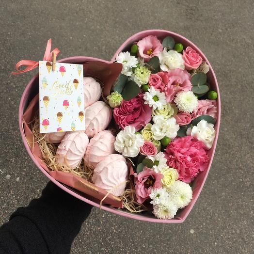 Сладости и радости: букеты цветов на заказ Flowwow