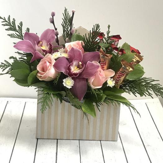 Сладкий конверт 🌹: букеты цветов на заказ Flowwow