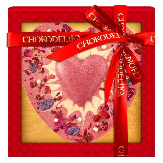 Шоколадное изделие Любящее сердце