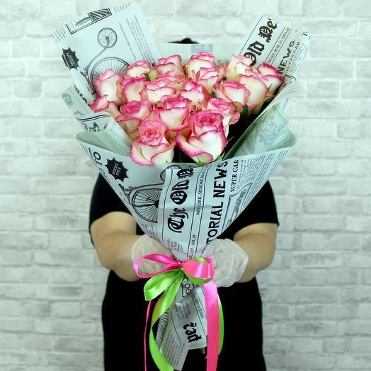 ✅ Букет роз сорта Джумилия