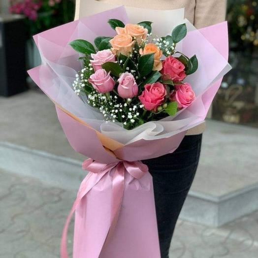 Bouquet of roses 9 PCs