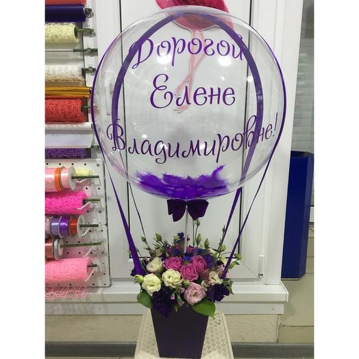 Баблс с цветами