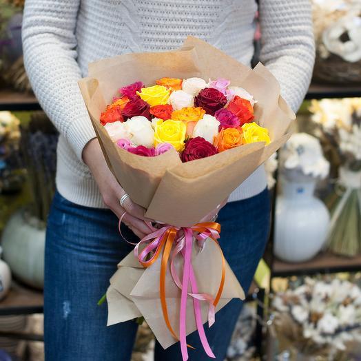 Букет роз Цветущий мир