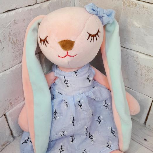 Зайка сплюшка в платье