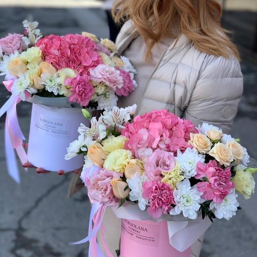 Цветы в коробке Созвездие девы