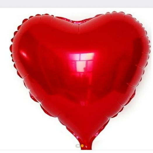 Шар Фольга сердце