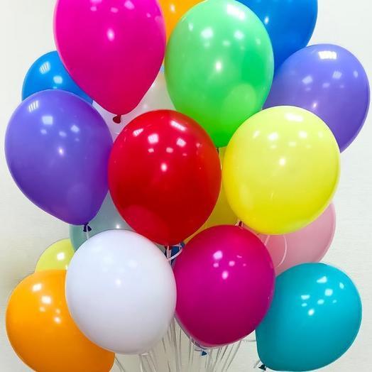 Гелиевые шары 5 шт