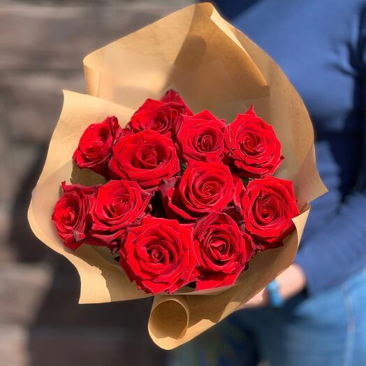 Букет из роз «Страсть»
