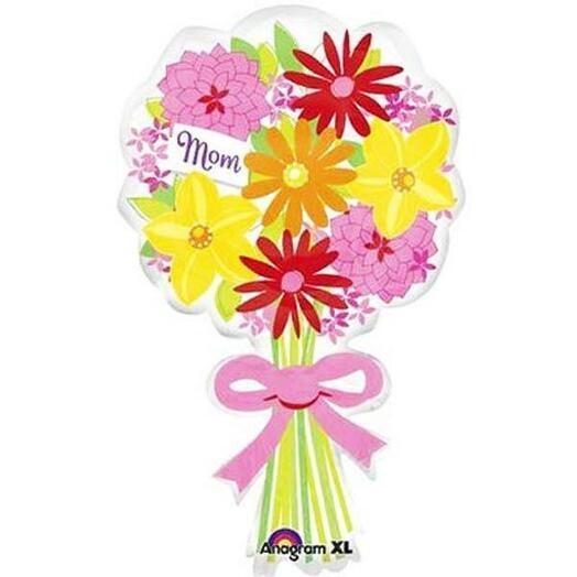 Шар Букет цветов для мамы