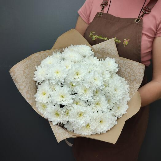Bouquet of 7 chrysanthemums