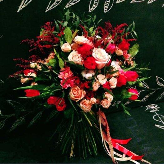 Букет Роковая страсть: букеты цветов на заказ Flowwow