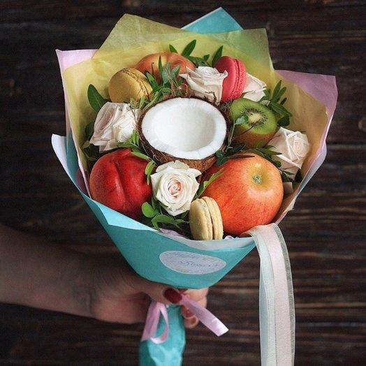 Кокосик: букеты цветов на заказ Flowwow