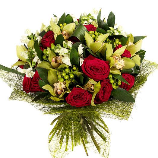 Букет Вечерний: букеты цветов на заказ Flowwow