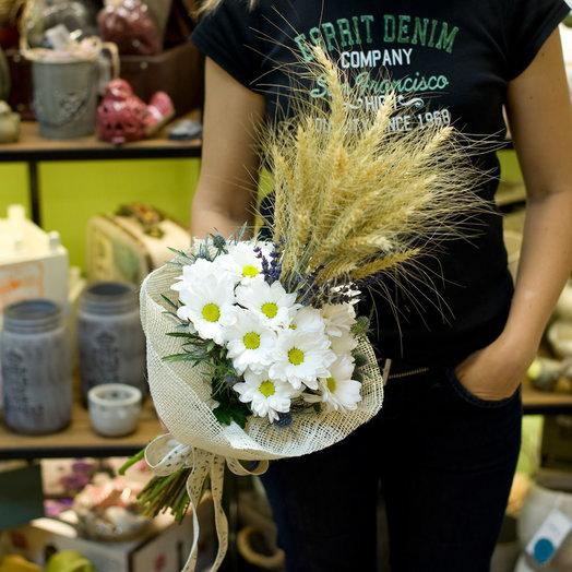 Букет цветов Пшеничный: букеты цветов на заказ Flowwow