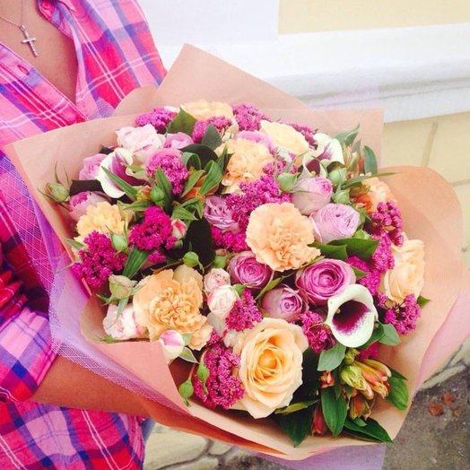 Букет Розовый зефир