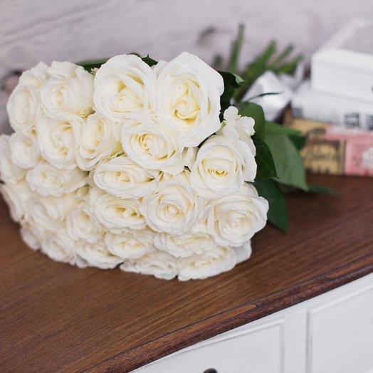 Букет из 25 роз «Tibet»: букеты цветов на заказ Flowwow