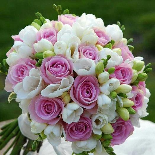 Букет невесты «Аромат цветов»: букеты цветов на заказ Flowwow