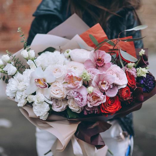 Цветочное омбре: букеты цветов на заказ Flowwow