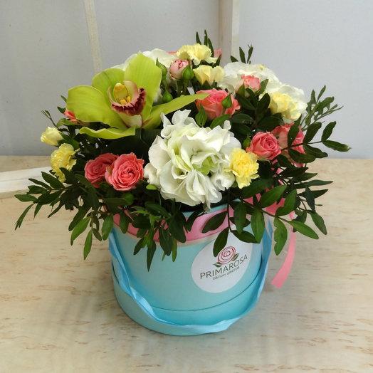 Шляпная коробка 10: букеты цветов на заказ Flowwow