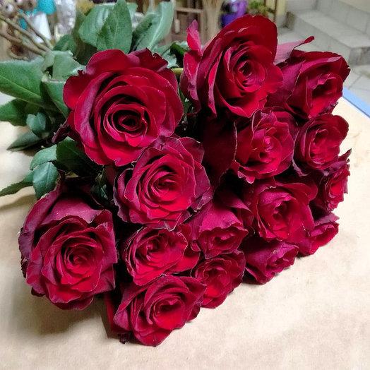 Букет из 15 премиум-роз Exp orer: букеты цветов на заказ Flowwow