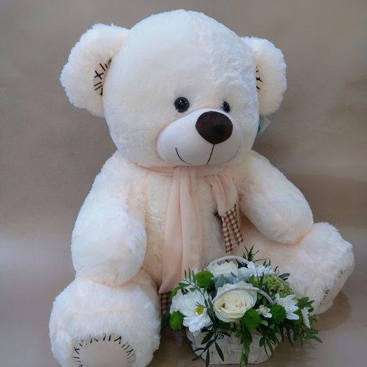 Медведь : букеты цветов на заказ Flowwow