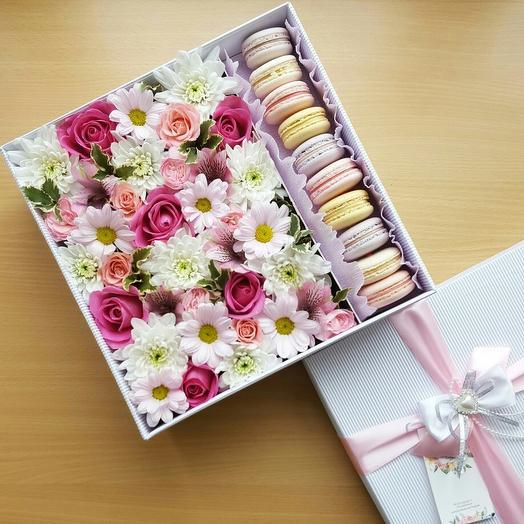 Коробка с печеньем