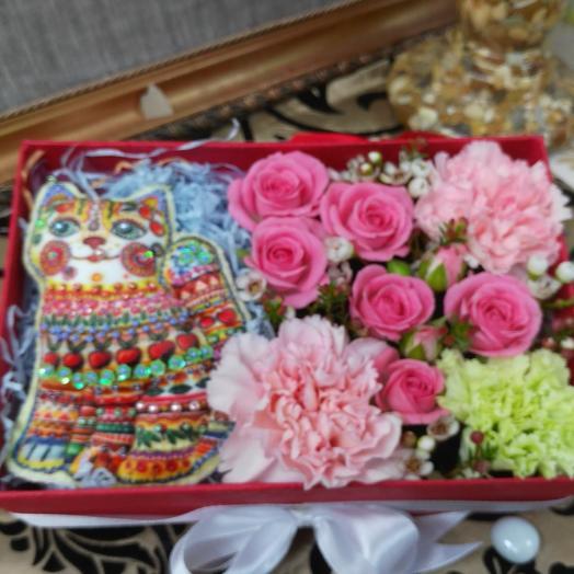 Чеширский кот: букеты цветов на заказ Flowwow
