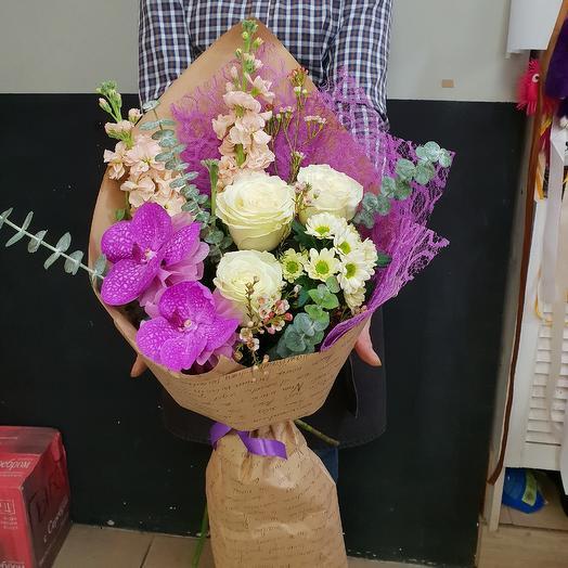 Кулечек радости 2: букеты цветов на заказ Flowwow