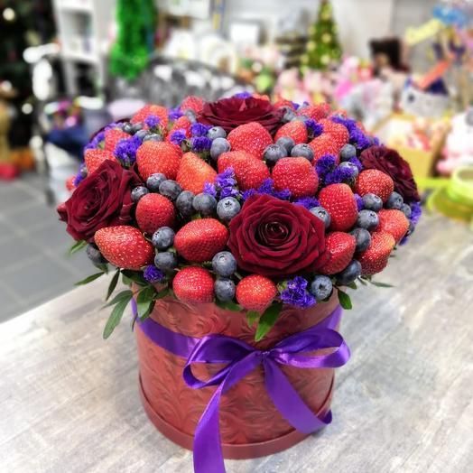 "Букет ""Черный жемчуг"": букеты цветов на заказ Flowwow"