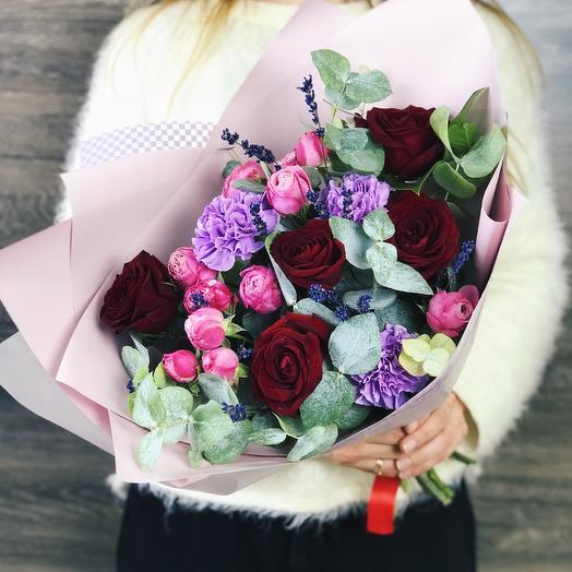 Букет - комплимент 7: букеты цветов на заказ Flowwow