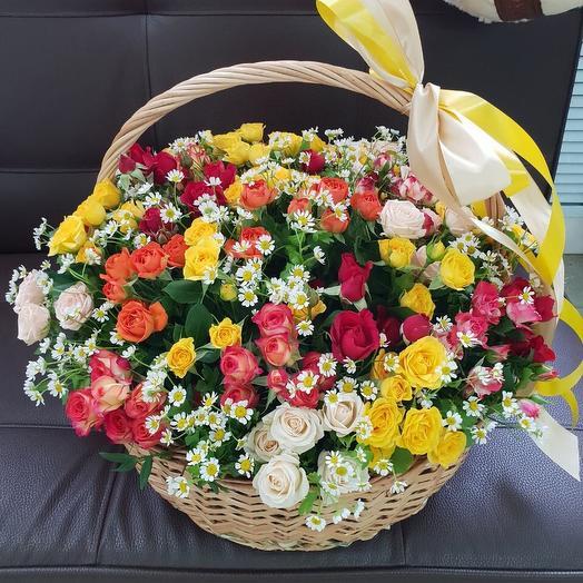 Корзина «Весенний день »