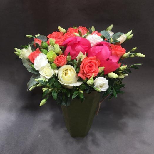 Пламенный презент: букеты цветов на заказ Flowwow