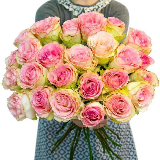25 роз Эсперанс: букеты цветов на заказ Flowwow
