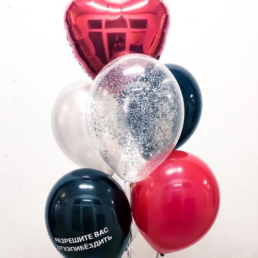 Фонтан из шариков Стильный