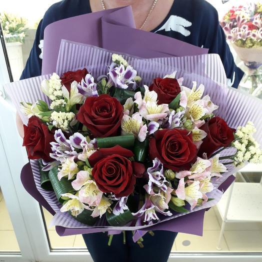 Прекрасный букет: букеты цветов на заказ Flowwow