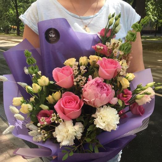 AMORE Pion: букеты цветов на заказ Flowwow